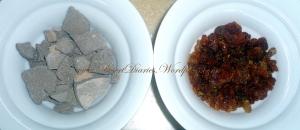 Moroccan Msiek (i.e Ghassoul Chips) & Myrrh